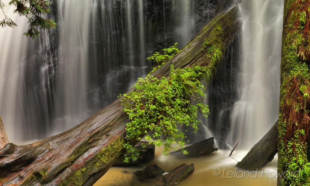 Russian Gulch Falls