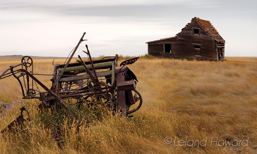 Cabin in ruins